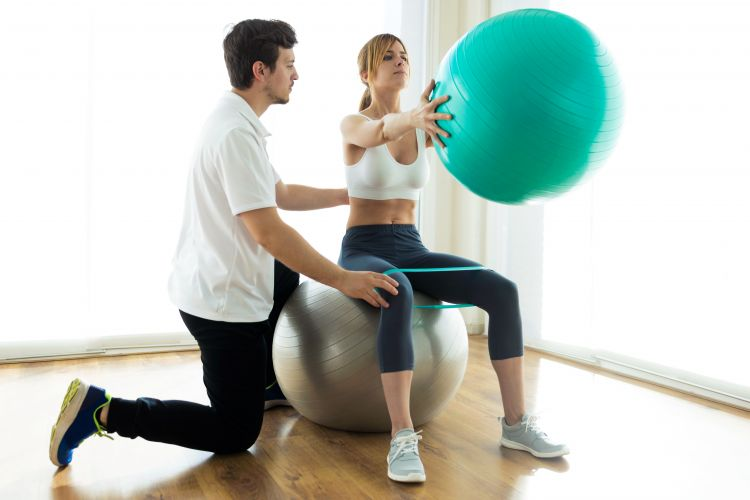 Krankengymnastik Physiotherapie Rehabiliation Reha Sport