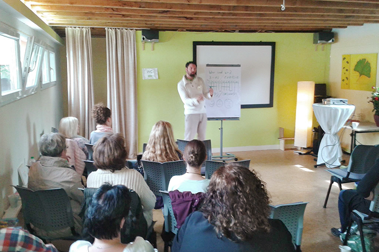 Vorträge und Seminare von Heilpraktiker Simon Gilljohann